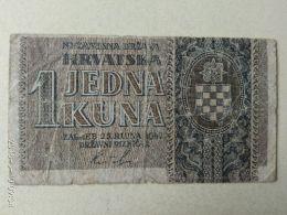 1 Kuna 1942 - Croazia