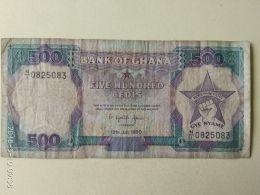 500 Cedis 1989 - Ghana