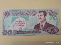 10 Dinars 1992 - Iraq