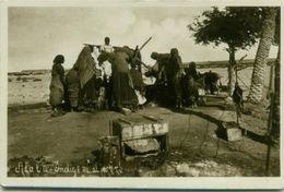 AFRICA - SOMALIA - ALULA - INDIGENOUS NEAR THE WELL - RPPC 1920s ( 2532) - Somalia