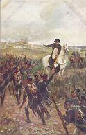 NAPOLEON EXORTANT LES TROUPES A LA CHARGE (ATTAQUE D'UN VILLAGE) 1812 - Hommes Politiques & Militaires