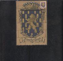 Carte Maximum Blason Franche Comté 1951 - 1950-59