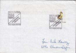 Norway Sonderstempel NM Langdistanse-orinetring HØLEN 1980 Cover Brief Bird Vogel Oiseau Duck - Norwegen