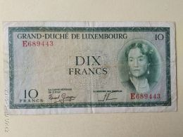 10 Francs 1954 - Luxembourg