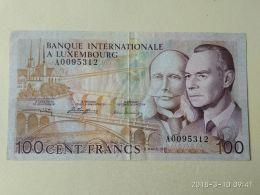 100  Francs 1981 - Lussemburgo