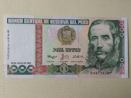 1000 Intis 1988 - Perù