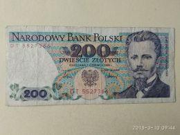 200 Zlotych 1988 - Polonia