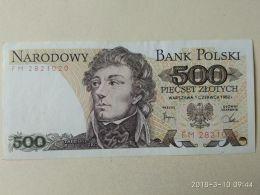 500 Zlotych 1982 - Polonia