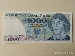 1000 Zlotych 1982 - Polonia