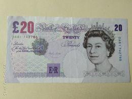20 Pounds 1999 - 1952-… : Elizabeth II