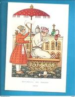 INDIA L'OMBRELLO NELLA STORIA -   NICOULINE  CARTOLINA NON VIAGGIATA - Künstlerkarten