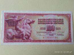 100 Dinari 1978 - Jugoslavia
