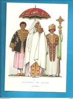 ETIOPIA OMBRELLO NELLA STORIA     NICOULINE  CARTOLINA NON VIAGGIATA - Künstlerkarten