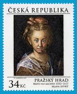 CZ 2015-850 PRAGA CASTEL, CZECH REPUBLIK, 1 X 1v, MNH - Neufs