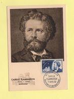 Carte Maximum - N°1057 - Camille Flammarion - Cartas Máxima