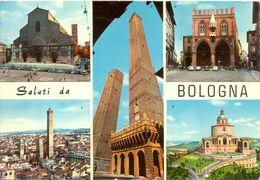 Italie - Bologne - Multivues - Editrice Cartovendita Nº 15 - Ecrite, Timbrée - 1823 - Bologna