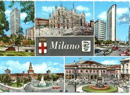 Italie - Milan - Souvenir De Milan - Multivues - Stab Grafico - Cesare Capella - Ecdrite, Timbrée, Dentelée - 1830 - Milano (Milan)