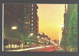 Hollywood - World Famed Hollywood Boulevard At Night - Los Angeles