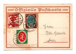 ALLEMAGNE . DEUTSCHE NATIONALVERSAMMUNG IN WEIMAR 1919 . LUFTPOST 18.07.1919 - Réf. N°8138 - - Briefe U. Dokumente