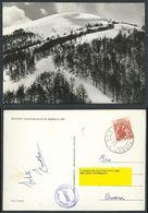 CARTOLINA SCANNO PISTE DI DISCESA DA M. COPELLO - C13 - Italia
