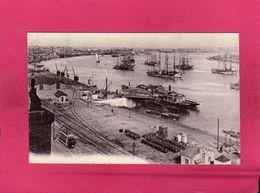 """33 Gironde, Bordeaux, Quais, """"Barge Blaye, Pauillac, Royan, Bordeaux"""", Bateaux Thoniers, 1915 - Bordeaux"""