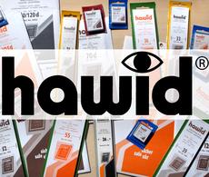 HAWID-Streifen 1075, 210 X 75 Mm, Schwarz, 10 Stück D* (weiße Verpackung) - Postzegelhoes