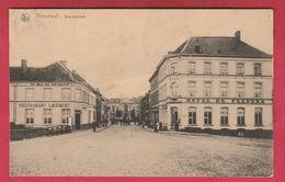 Torhout - Statiestraat  - Hôtel De Flandre Et Au Duc De Brabant ( Verso Zien ) - Torhout