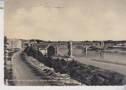 Pavia  Lungo Ticino Col Ponte Vecchio Ricostruito 1952 - Pavia
