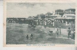 Anzio Roma Villini Sulla Spiaggia Di Ponente 1919 - Roma (Rome)