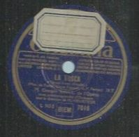 """78 Tours - GEORGES THILL  - COLUMBIA 7016  """" LA TOSCA  """" + """" PAILLASSE """" - 78 Rpm - Gramophone Records"""