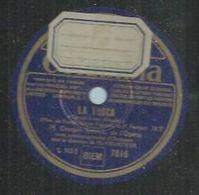 "78 Tours - GEORGES THILL  - COLUMBIA 7016  "" LA TOSCA  "" + "" PAILLASSE "" - 78 T - Disques Pour Gramophone"