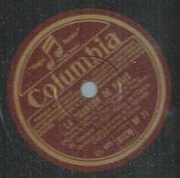 """78 Tours - GEORGES THILL  - COLUMBIA 71  """" LA CHANSON DE PARIS  """" + """" J'AI TANT D'AMOUR """" - 78 Rpm - Gramophone Records"""