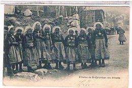 73 FILLETTES  DE  SAINT  COLOMBAN  DE  VILLARDS    TBE  FO484 - France