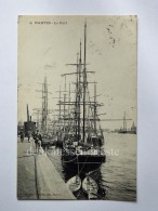 FRANCIA FRANCE NANTES Naoned Voiliers LE PORT CPA Old Postcard - Nantes