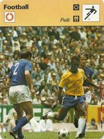 ZZ 1057/58/59  OVERATH   PASSARELLA  PELE   3 Cartes Football A Voir   Edition Rencontre (annee Vers 1977/78) - Trading Cards