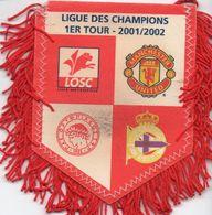 Le Groupe De LILLE En Ligue Des Champions 2001/2002 - Habillement, Souvenirs & Autres