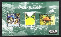 Nuova Zelanda   -   1997. Moa Estinto, Annunciazione, Giardini. Moa Extinct, Annunciation, Paradis Gardens. MNH - Francobolli