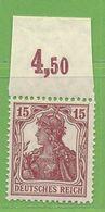 MiNr. 142 Xx OR Deutschland Deutsches Reich - Deutschland