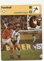 ZZ 1063/64/65  LUQUE  MASOPUST  MATTHEWS 3 Cartes Football A Voir   Edition Rencontre (annee Vers 1977/78) - Trading Cards