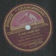 """78 Tours - MAREK WEBER  - GRAMOPHONE 6875  """" LE BEAU DANUBE BLEU  """" + """" L'OR ET L'ARGENT """" - 78 Rpm - Gramophone Records"""