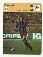 ZZ 1066/67/68  MAZZOLA MENOTTI MERKEL 3 Cartes Football A Voir   Edition Rencontre (annee Vers 1977/78) - Trading Cards