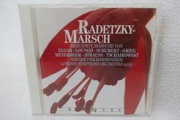 """CD """"Radetzky Marsch"""" Berühmte Märsche Von Elgar, Gounod, Schubert, Grieg, Meyerbeer, Strauss, Tschaikowsky - Klassik"""