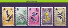 Mgm0459 FAUNA VOGELS DUIF PIGEON DOVE ORIOLE BIRDS VÖGEL AVES OISEAUX INDONESIA 1965 PF/MNH - Collections, Lots & Series