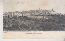 Macerata Panorama 1906? - Macerata