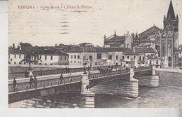 Verona  Ponte Navi E Chiesa S. Fermo 1921 - Verona