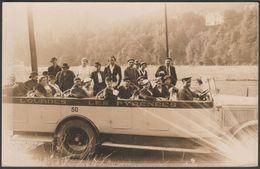 Charabanc, Lourdes Et Les Pyrenees, C.1910s - Photo CPA - Passenger Cars