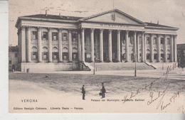 Verona Palazzo Del Municipio Architetto Barbieri 1918 - Verona