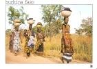 BURKINA FASO - Prés De BANFORA - Province De Komoé - Infatigables Femmes Peuth - W-6 - Burkina Faso