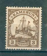 CAMEROUN ; Colonie Allemande ; 1900 ; Y&T N° 7-12-13 ; Neuf - Colonie: Cameroun