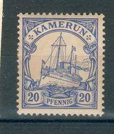 CAMEROUN ; Colonie Allemande ; 1900 ; Y&T N° 10 ; Neuf - Colonie: Cameroun